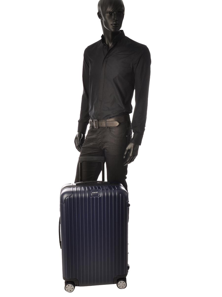 Hardside Luggage Salsa Rimowa Blue salsa 81063394-vue-porte