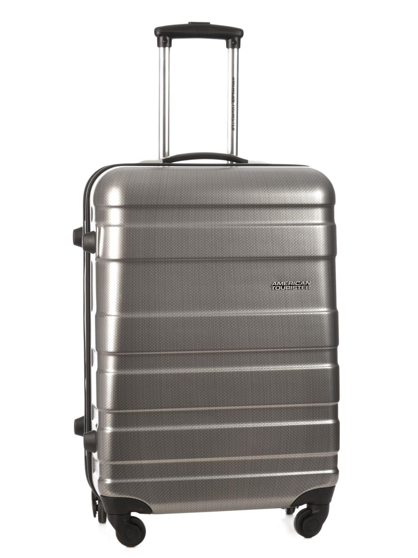 valise rigide american tourister pasadena black silver en vente au meilleur prix. Black Bedroom Furniture Sets. Home Design Ideas
