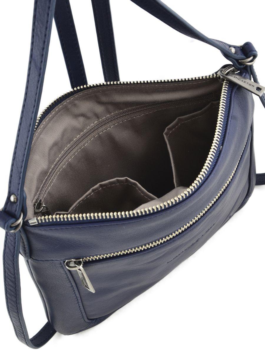 sac lancaster soft vintage nova dark blue en vente au. Black Bedroom Furniture Sets. Home Design Ideas