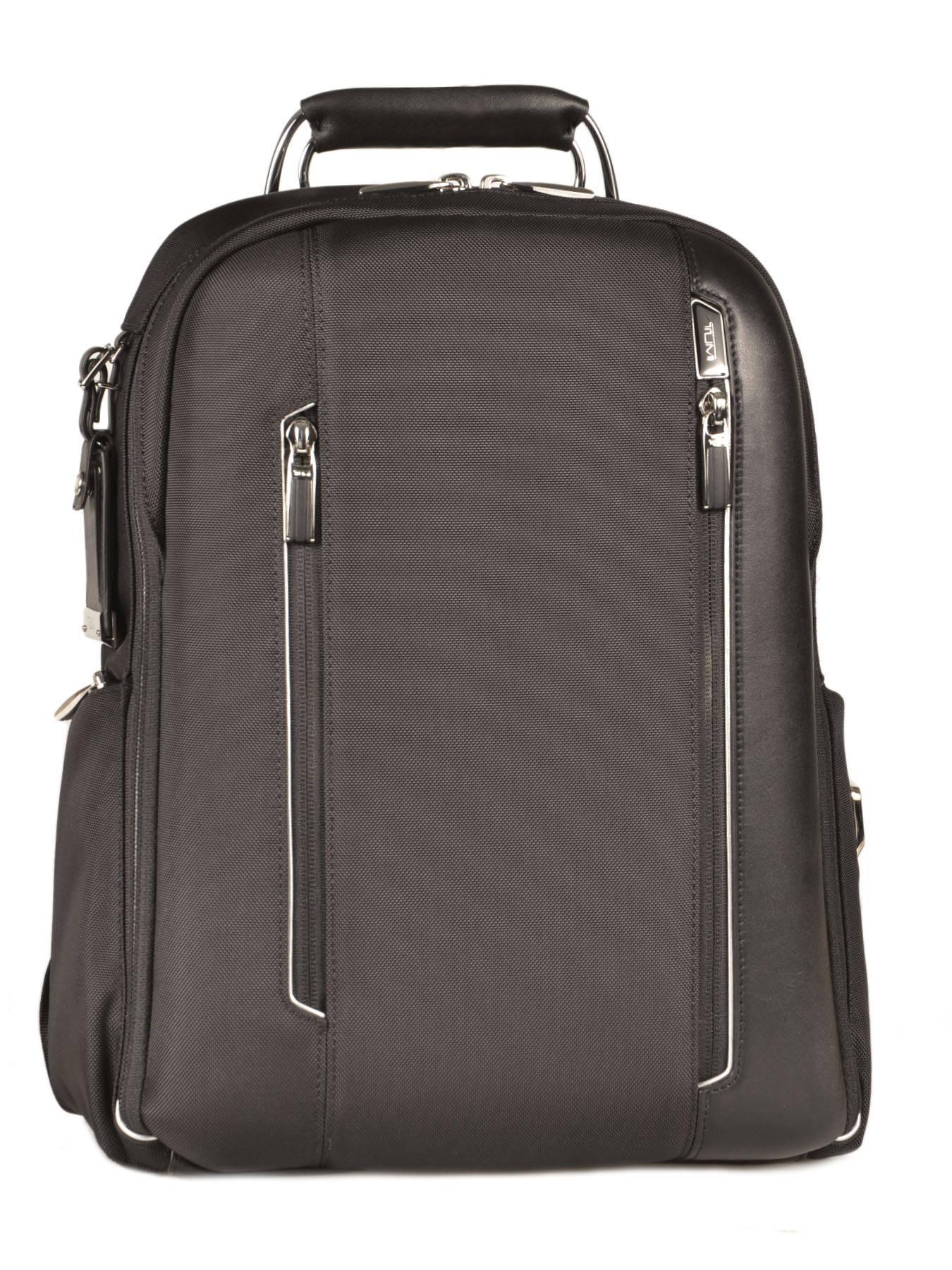 sac dos tumi black arrive 255011. Black Bedroom Furniture Sets. Home Design Ideas