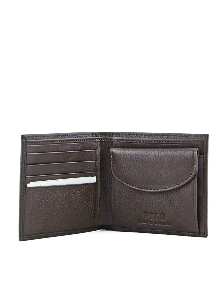 Portefeuille homme polo ralph lauren wallet 2006 brown en for Portefeuille homme