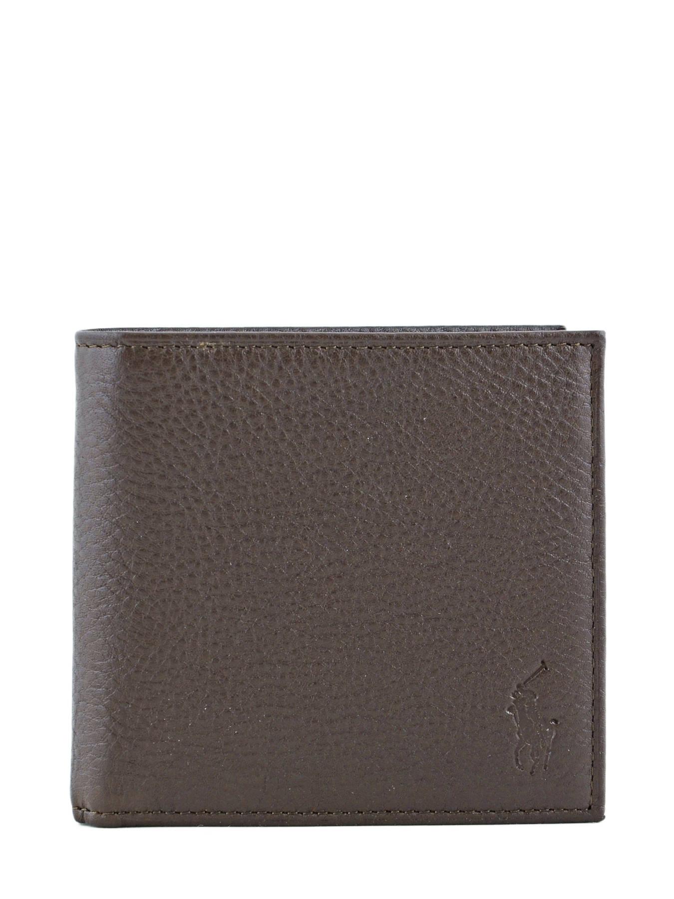 portefeuille homme polo ralph lauren wallet 2006 brown en vente au meilleur prix. Black Bedroom Furniture Sets. Home Design Ideas