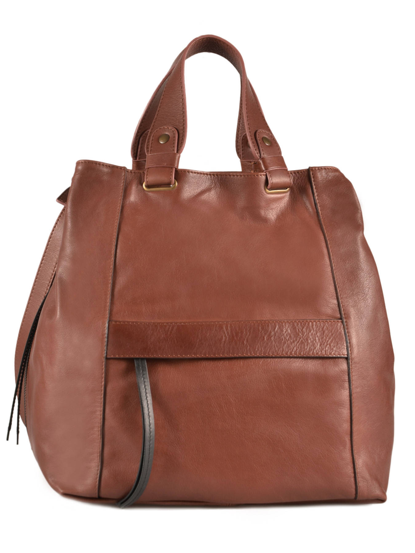 Sac Porté Main Two Color Cuir Gerard darel Marron two color DDS23401