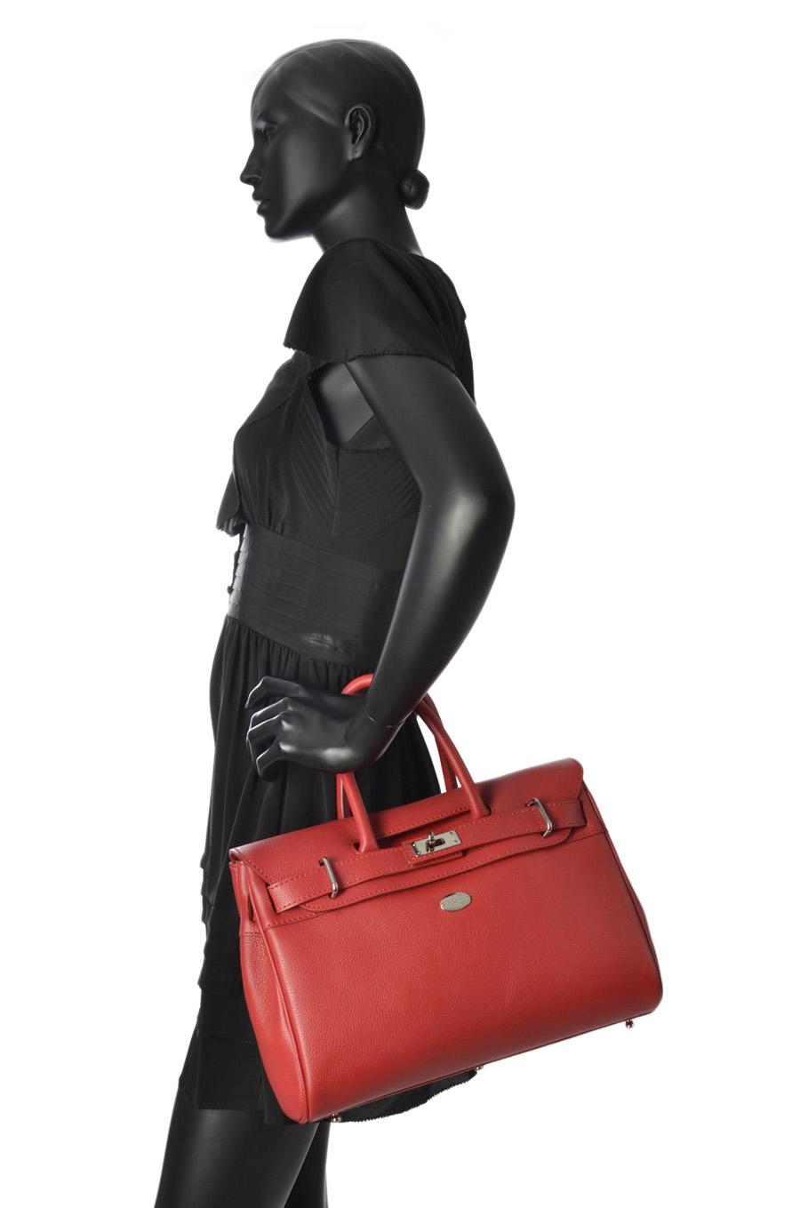 Top Handle Vesuvio Leather Mac douglas vesuvio PYLVES-X-vue-porte