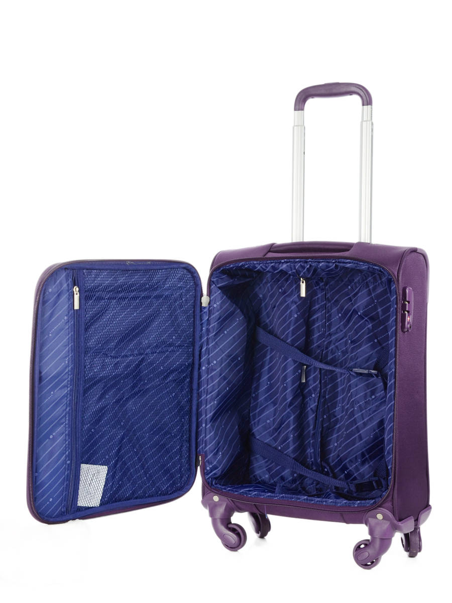 valise cabine miniprix pas cher eleganci purple en vente au meilleur prix. Black Bedroom Furniture Sets. Home Design Ideas