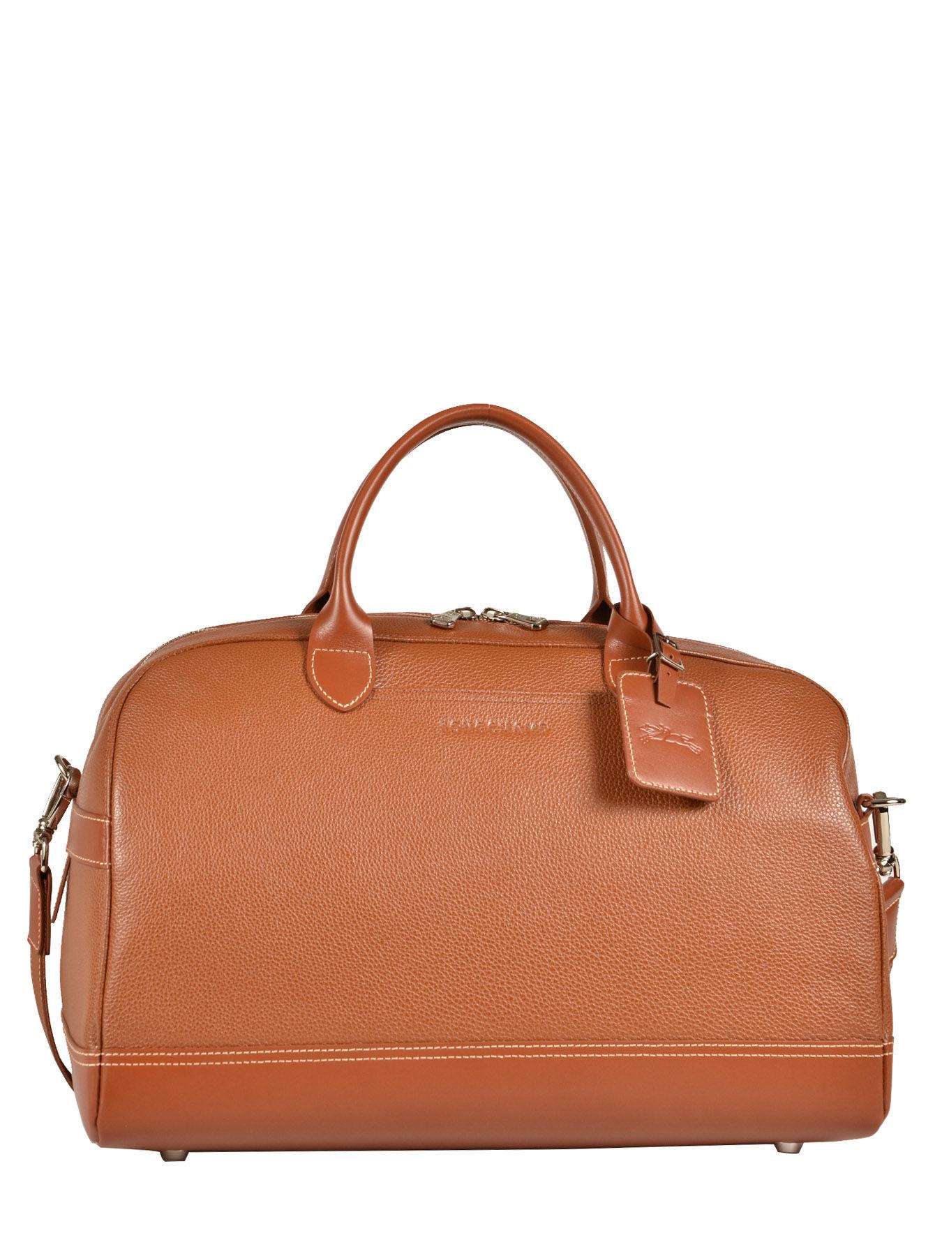 longchamps sac de voyage en cuir