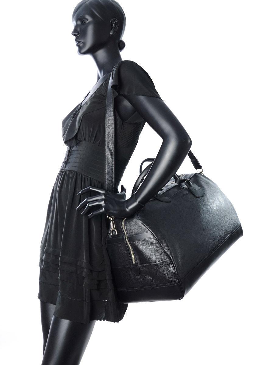 Leather travel bag L Le Foulonné LONGCHAMP