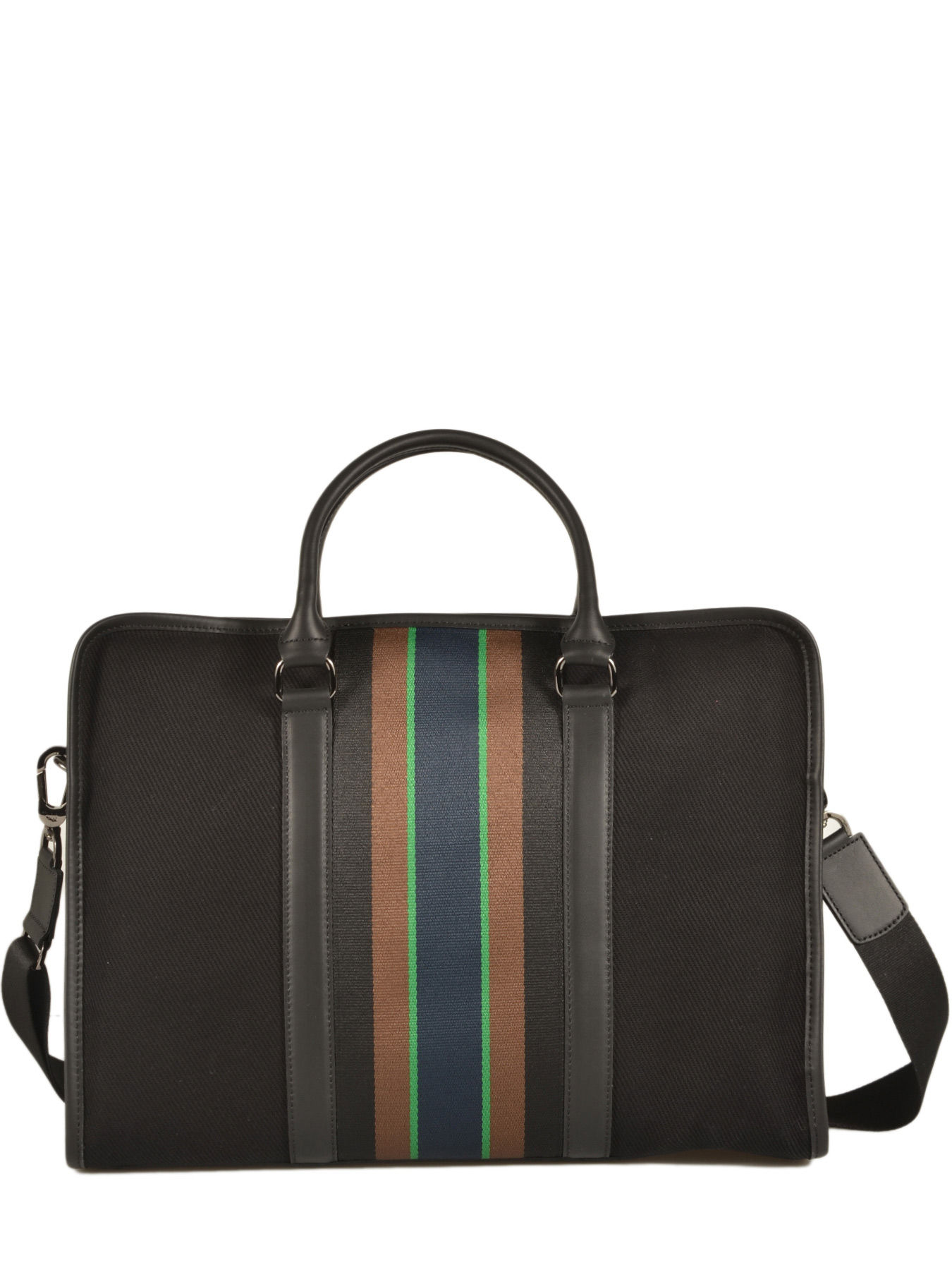 Longchamp Cricket Briefcase Black