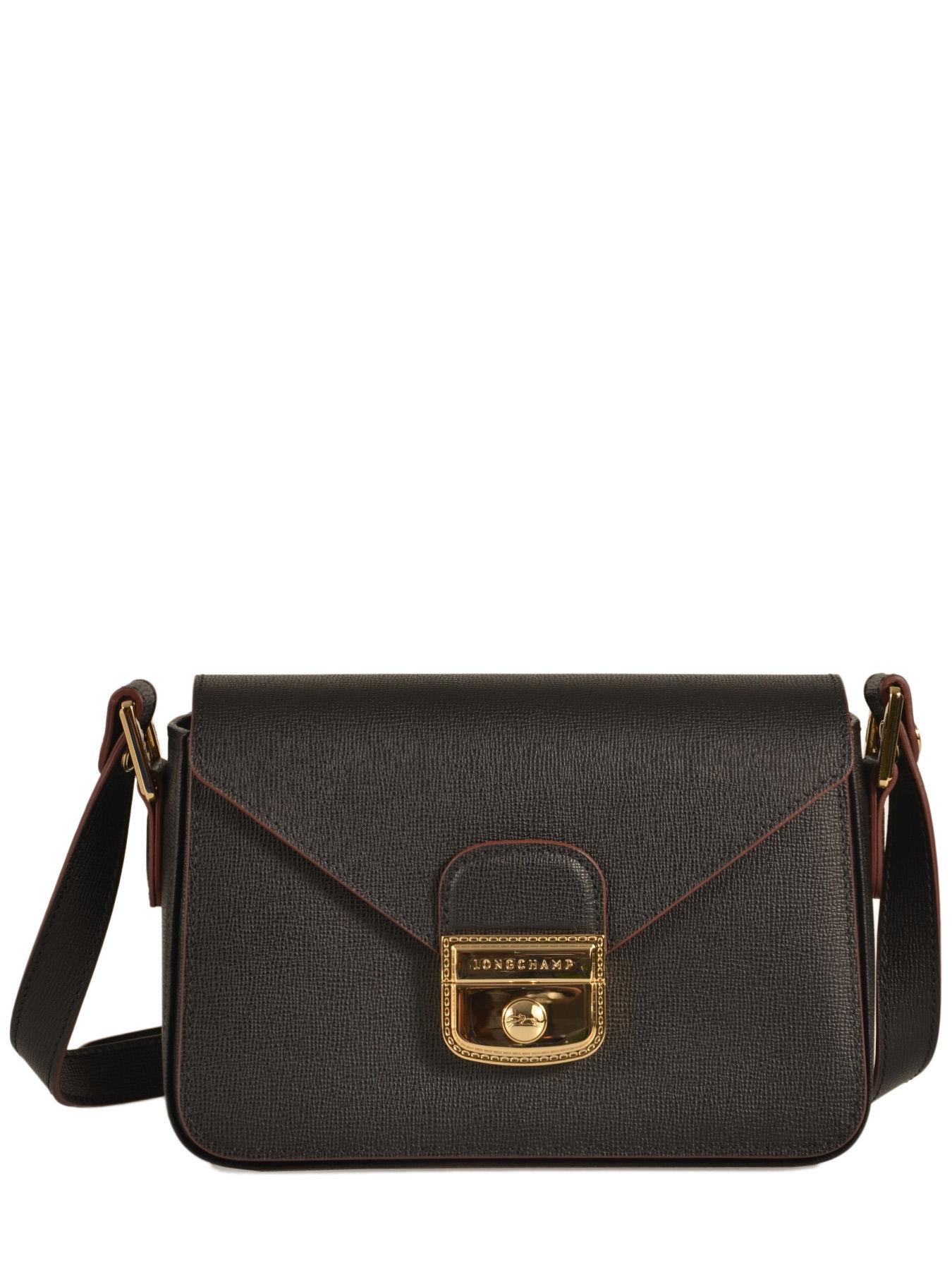 Sac Longchamp Noir Le Pliage : Sac port travers longchamp le pliage heritage noir en
