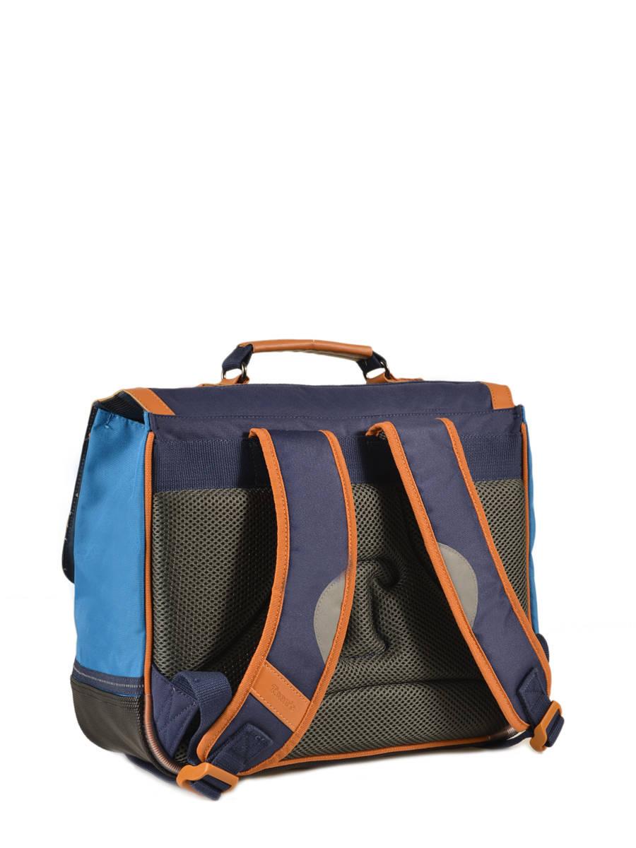 cartable tann 39 s les bons enfants polo bleu bleu en vente au meilleur prix. Black Bedroom Furniture Sets. Home Design Ideas