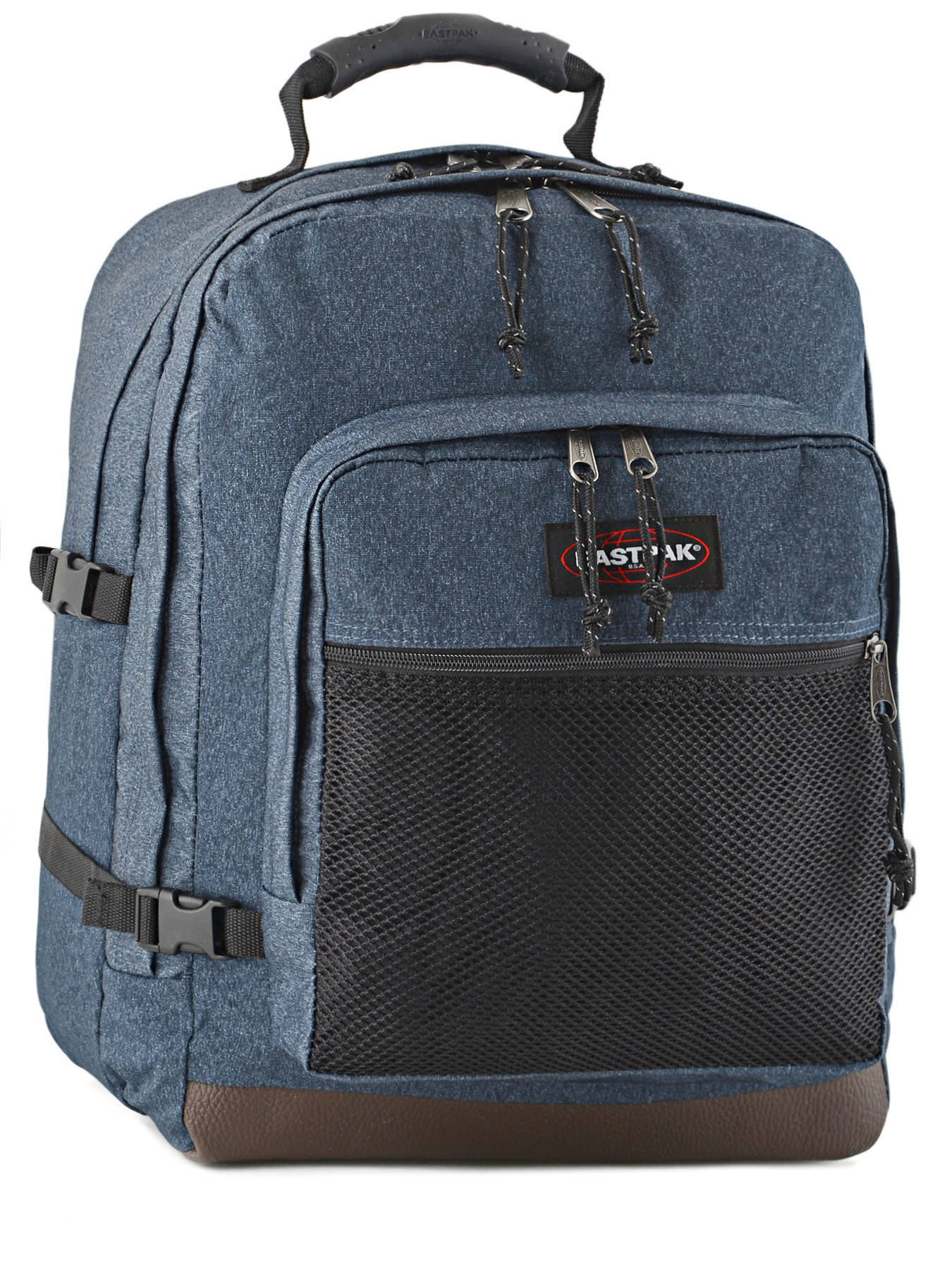 sac dos eastpak authentic double denim en vente au meilleur prix. Black Bedroom Furniture Sets. Home Design Ideas