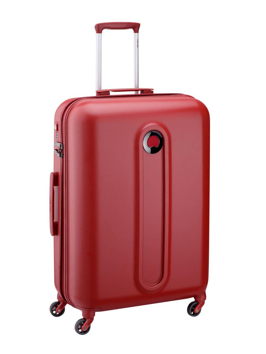 Valise rigide Delsey Helium classic 42 rouge en vente au meilleur prix - Valise Rouge