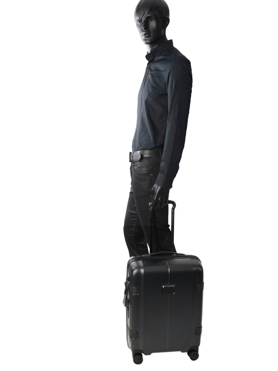 Valise Cabine Tumi Gris tlx 226007-vue-porte