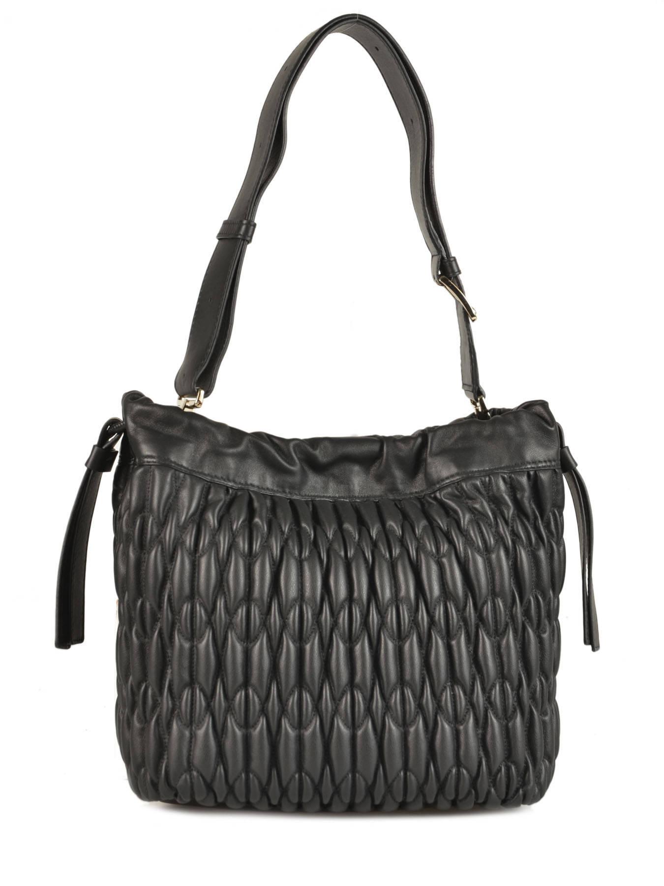 Bucket Bag Caos Leather Furla Black caos CAO-BLJ5