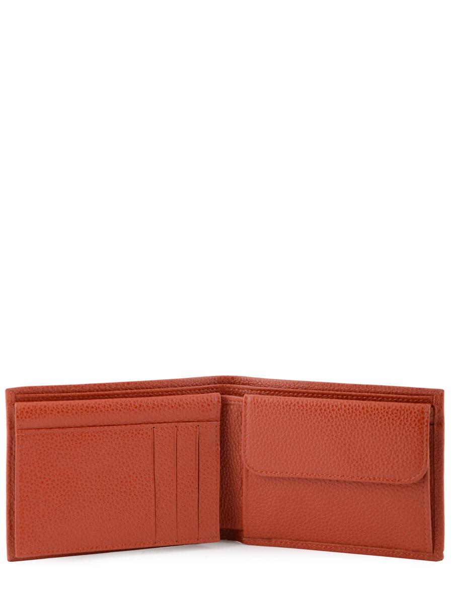 Longchamp Le foulonné Porte billets/cartes Rouge-vue-porte