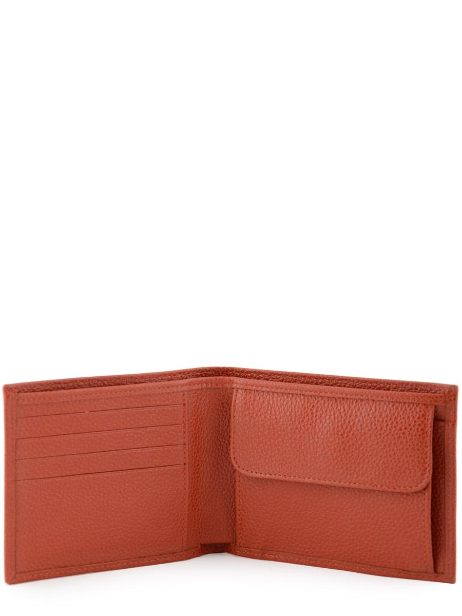 Longchamp Le foulonné Bill case / card case Red-vue-porte