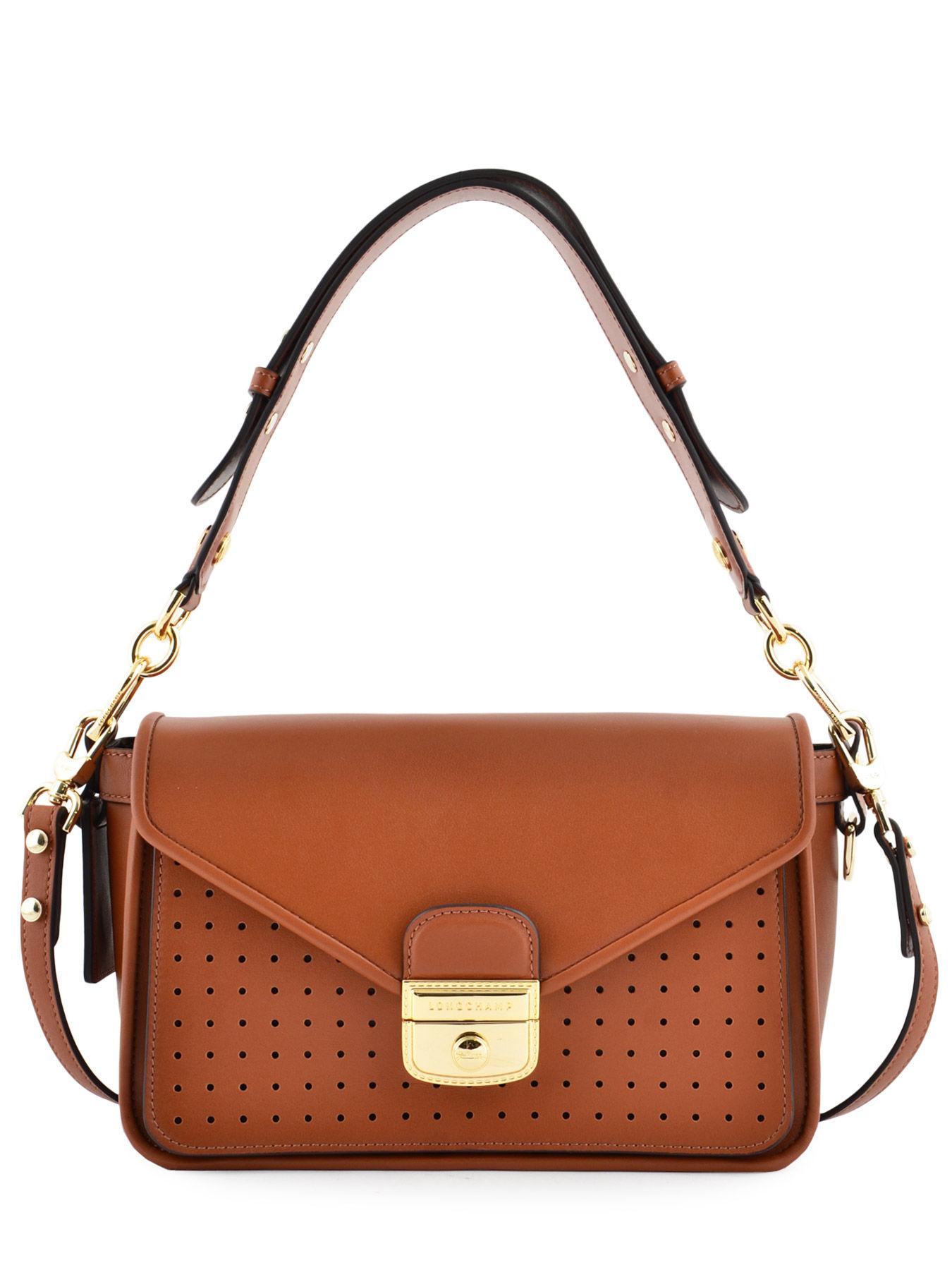 S Shoulder bag Mademoiselle longchamp leather LONGCHAMP