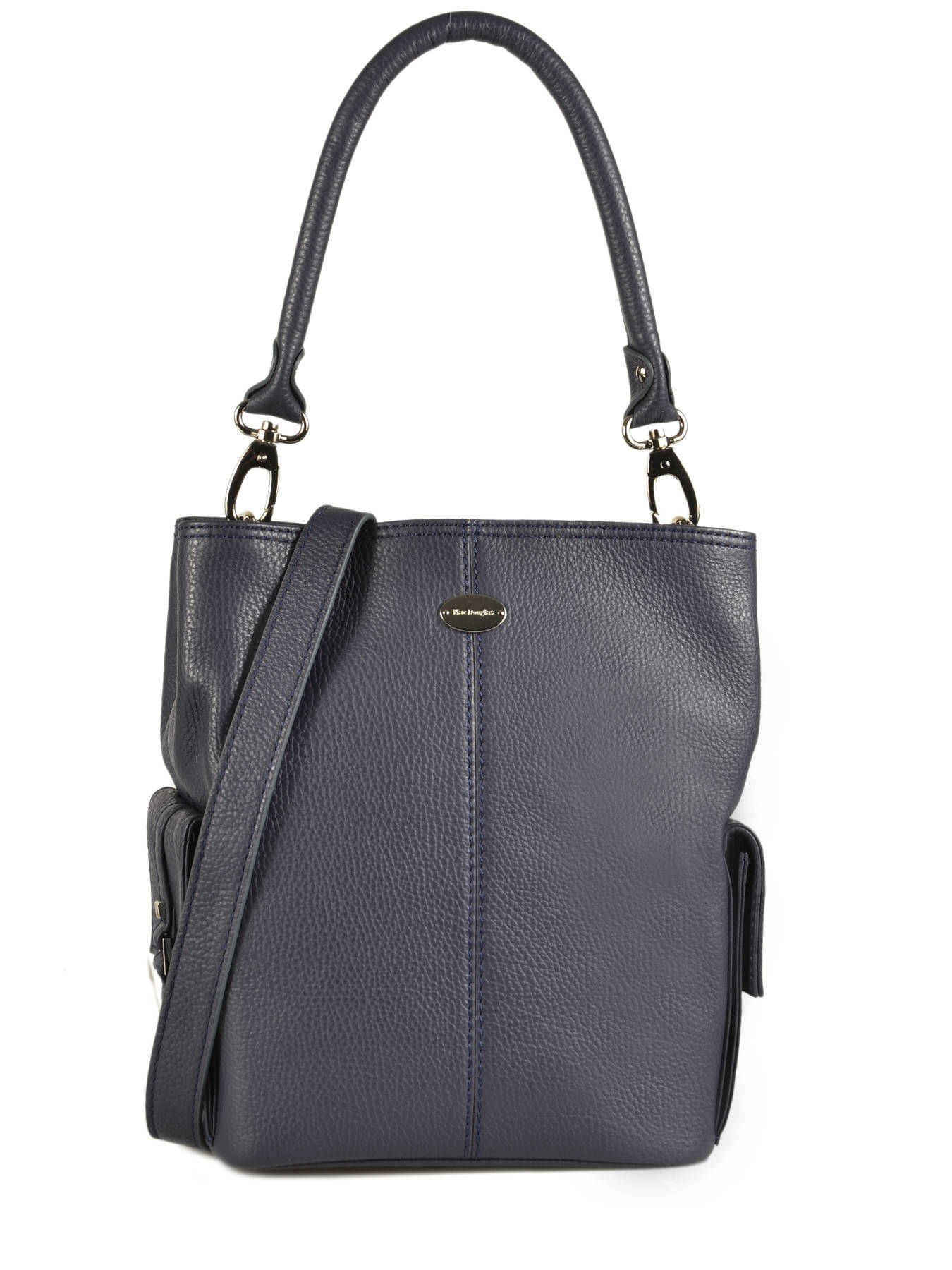 Bucket Bag Vesuvio Leather Mac douglas Blue vesuvio MEGVES-S