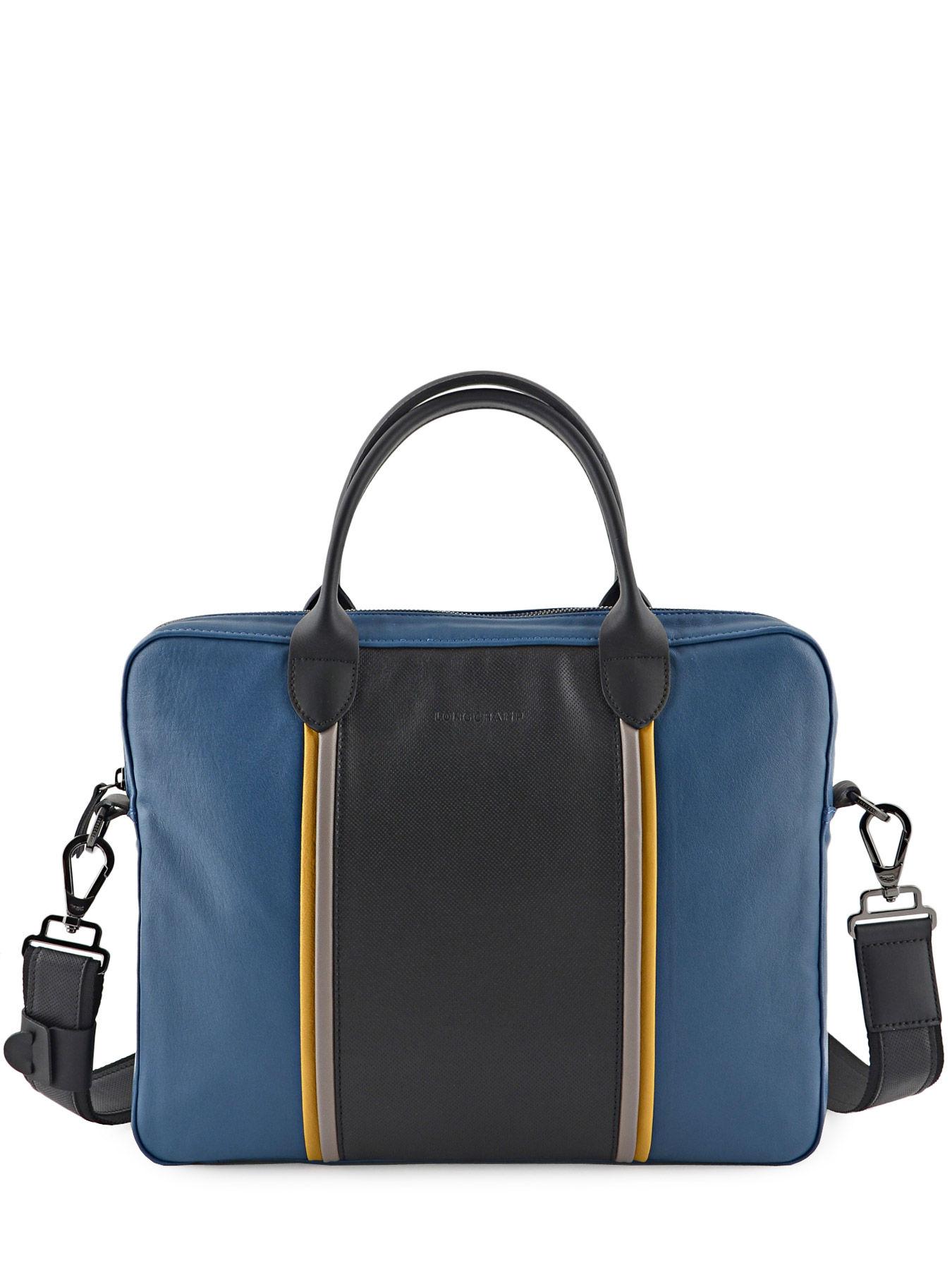 Longchamp Briefcase Blue