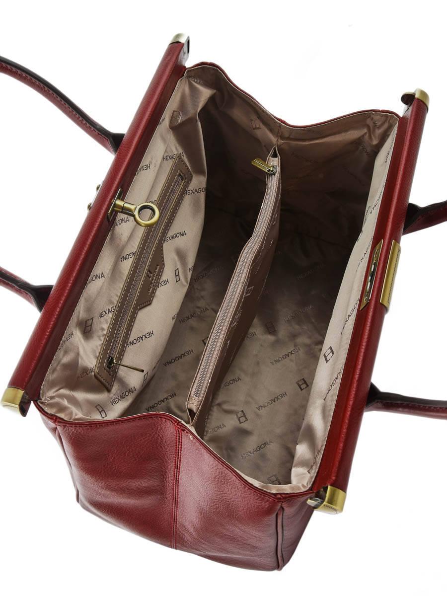 sac cuir rouge porte main