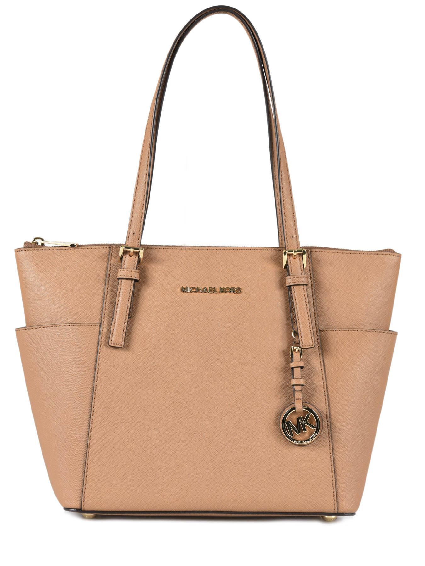Shopping bag Jet set item leather MICHAEL KORS