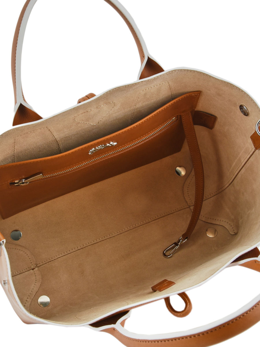 Medium leather Roseau tote bag LONGCHAMP