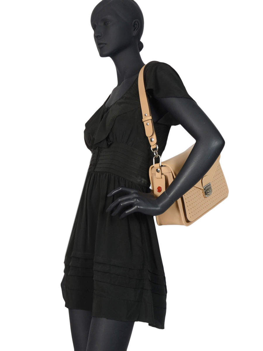Besace M Mademoiselle longchamp cuir LONGCHAMP
