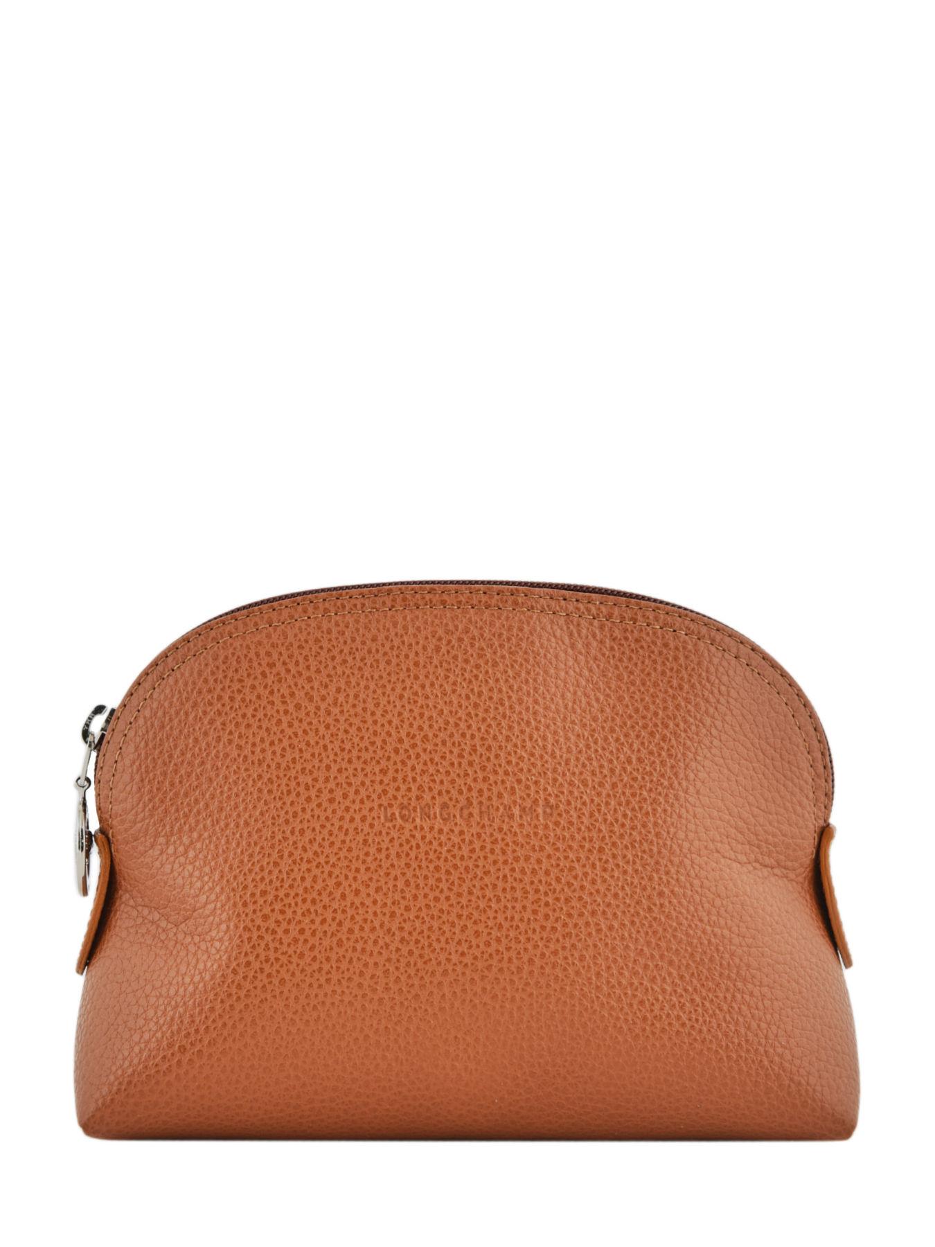 Leather pouch Le Foulonné LONGCHAMP