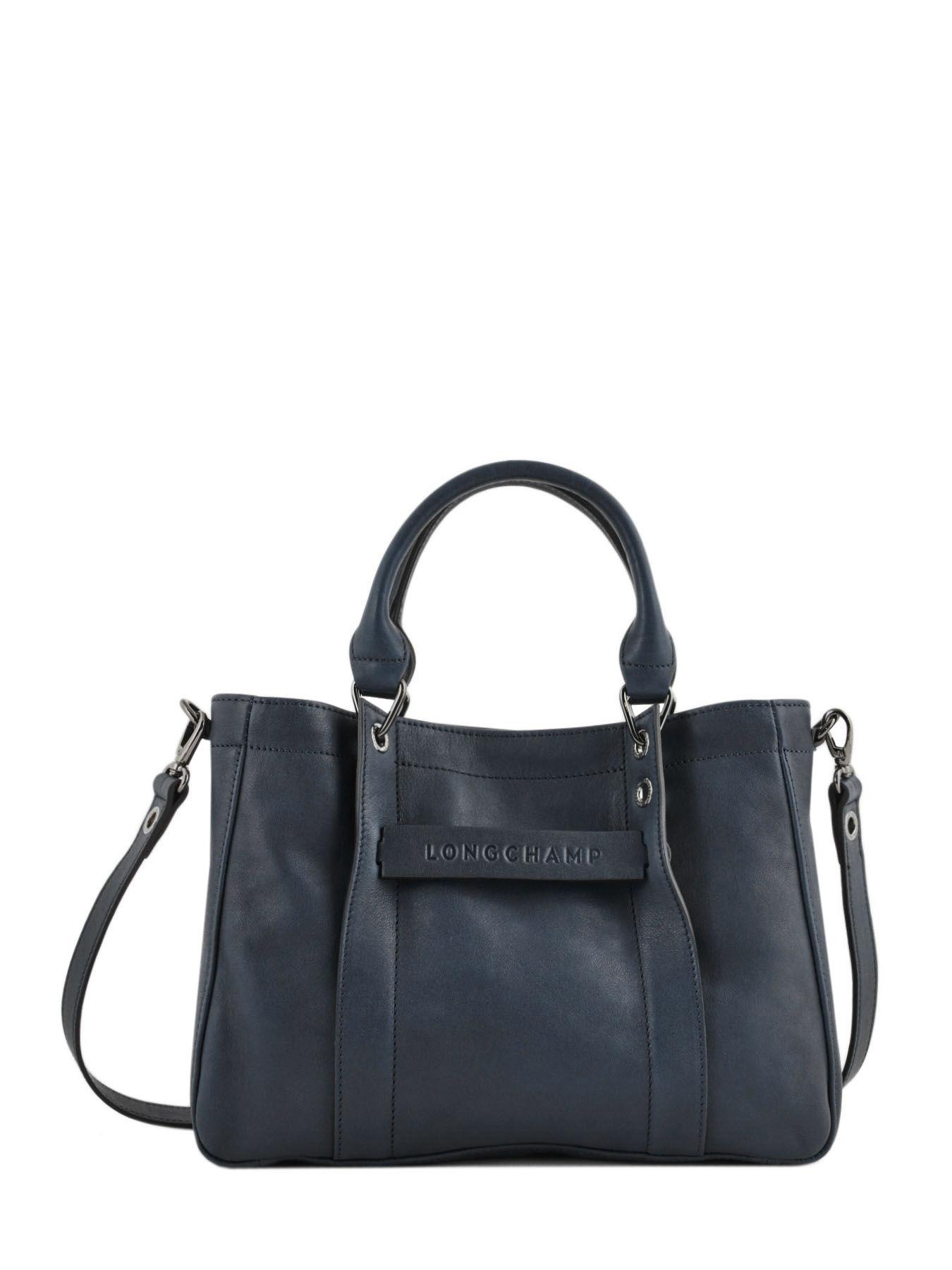 Longchamp 3d S TOTE leather LONGCHAMP