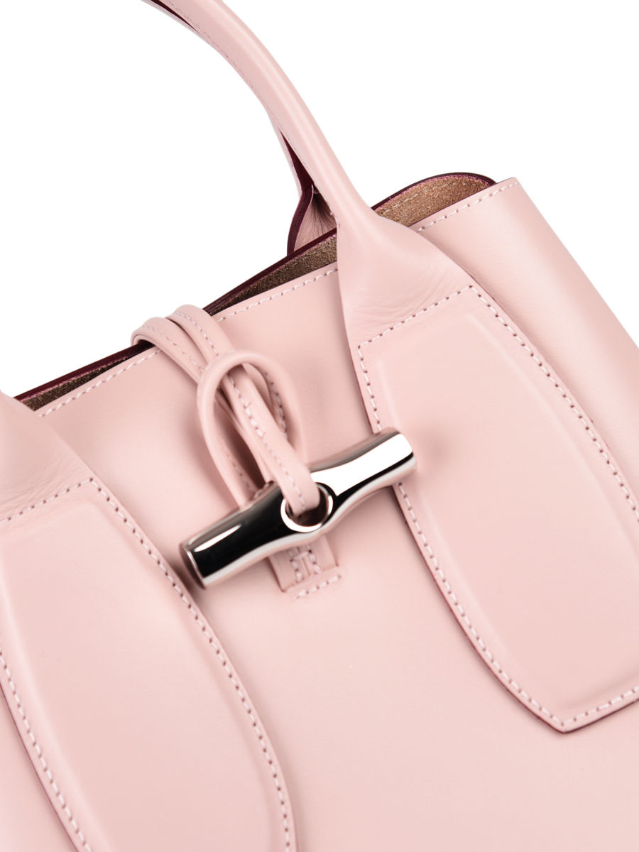 Leather top handle Roseau box LONGCHAMP