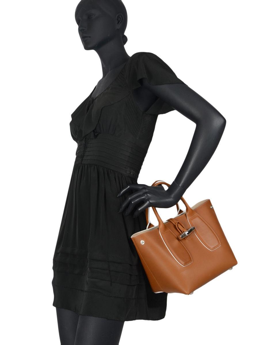 Top handle Roseau luxe leather LONGCHAMP