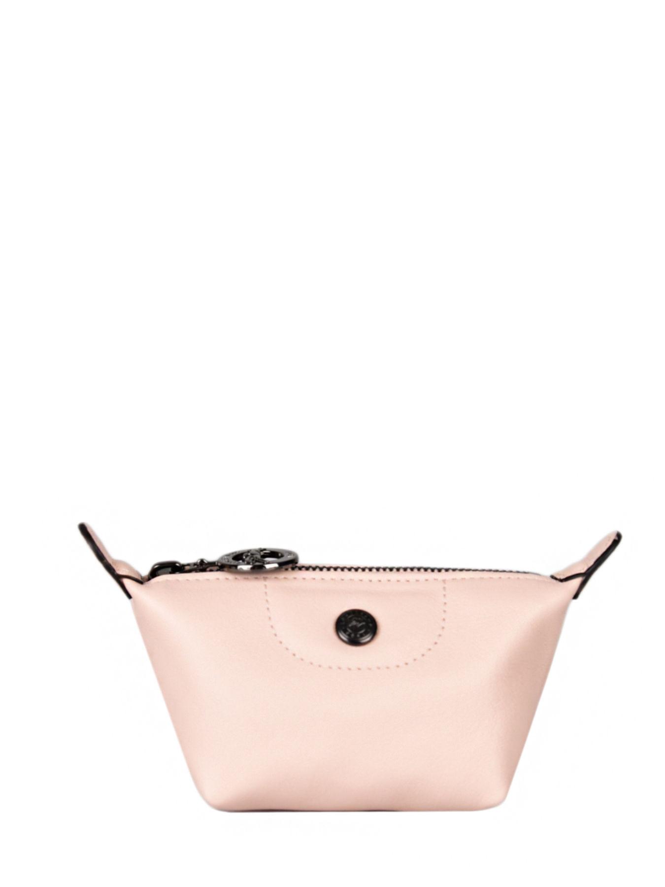 Leather Le Pliage Cuir coin purse LONGCHAMP