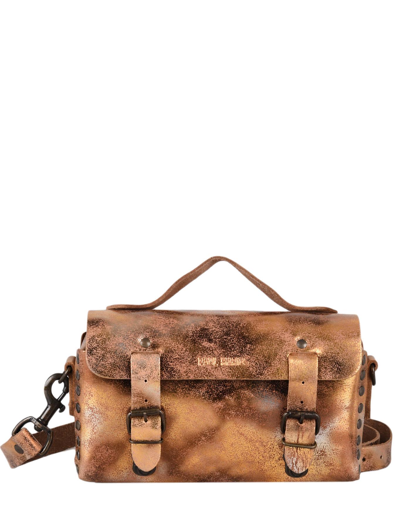 Sac bandoulière Vintage cuir PAUL MARIUS