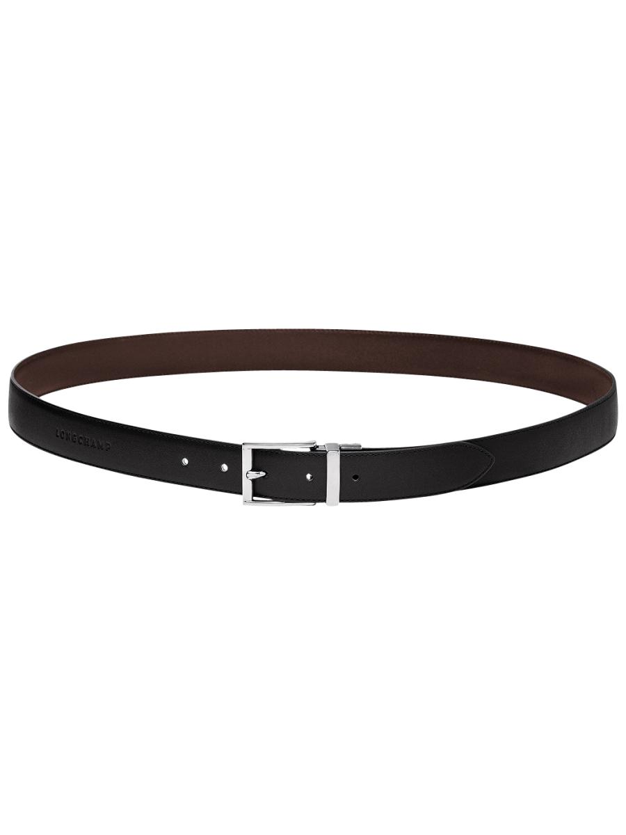 Longchamp Baxi cuir Belts Black