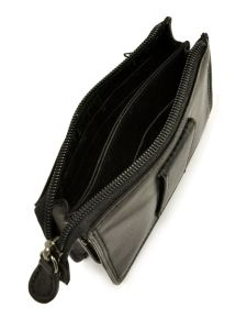 Wallet Leather Francinel Black palerme 1150-vue-porte