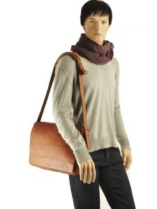 Sac Bandoulière A4 Ruitertassen Marron adults soft 4011-vue-porte