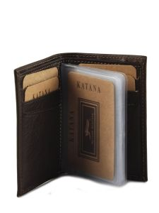 Card Holder Leather Katana Yellow vachette gras 853038-vue-porte