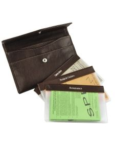 Wallet Leather Katana Orange vachette gras 853104-vue-porte