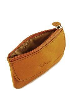 Key Holder Leather Katana Orange basile 853120-vue-porte