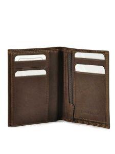 Wallet Leather Francinel Brown bilbao 47944-vue-porte