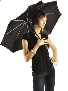 Parapluie Isotoner Noir auto pliants 9406-vue-porte