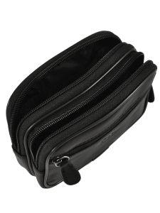 Messenger Bag Francinel Black palerme 1144-vue-porte