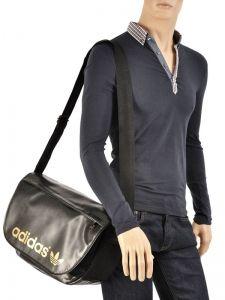 Messenger Bag A4 Adidas Black adicolor classic W68172-vue-porte