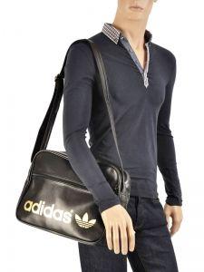 Messenger Bag Adidas Black adicolor classic W68179-vue-porte