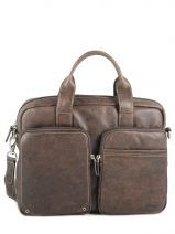 Briefcase 1 Compartment Francinel Brown norman 655008