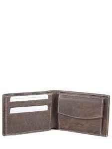 Wallet Leather Francinel Brown bixby 69906-vue-porte