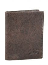 Wallet Leather Francinel Brown bixby 69944