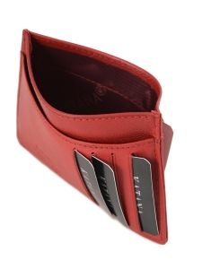 Wallet Leather Katana Red marina 753001-vue-porte