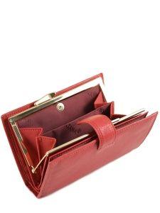 Wallet Leather Katana Red marina 753010-vue-porte
