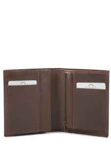 Wallet Leather Etrier Brown dakar 200143-vue-porte